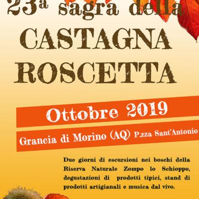 Sagra della castagna Roscetta (Grancia di Morino)
